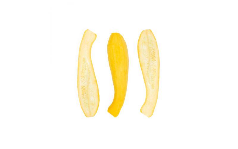 Halved Yellow Squash