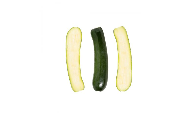 Halved Green Squash