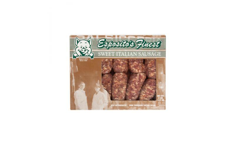Frozen Sweet Italian Sausages 2.5 OZ