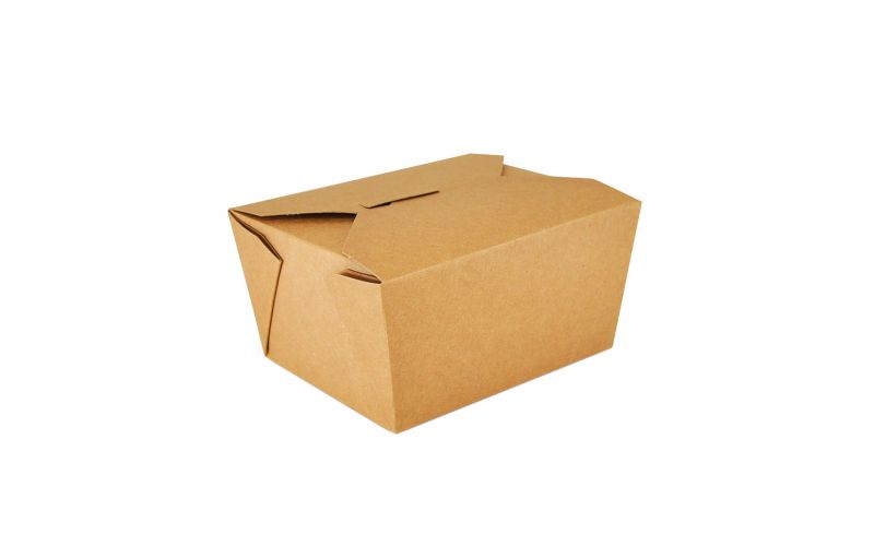 #1 Kraft Paper To Go #1 Container