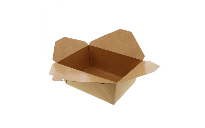 #4 Kraft Paper To Go Container