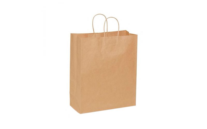 Kraft Shopping Bag With Handles