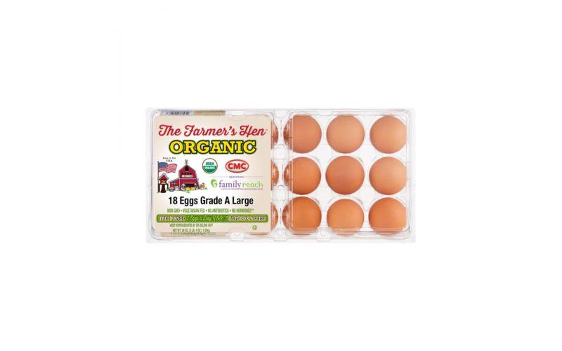 Free Range Organic Brown Eggs