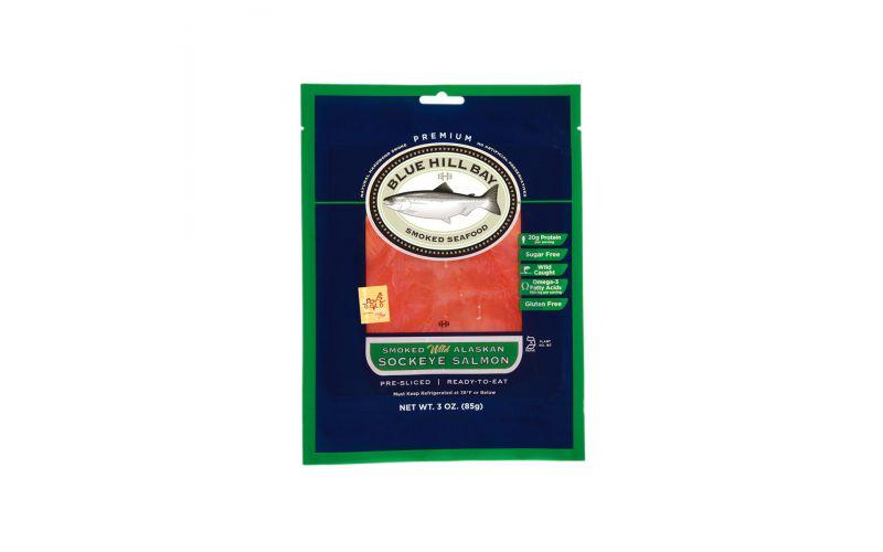 Wild Sockeye Alaskan Salmon