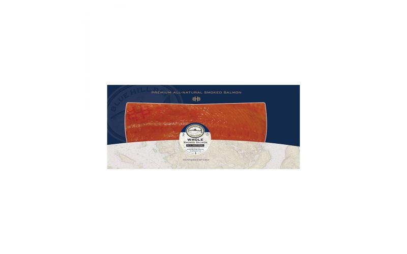 Blue Hill Bay Smoked Atlantic Salmon Whole