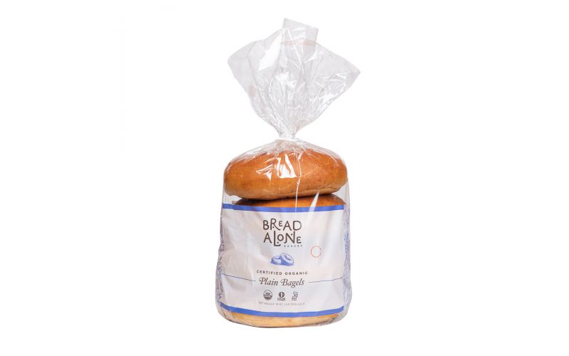 Organic Plain Bagels
