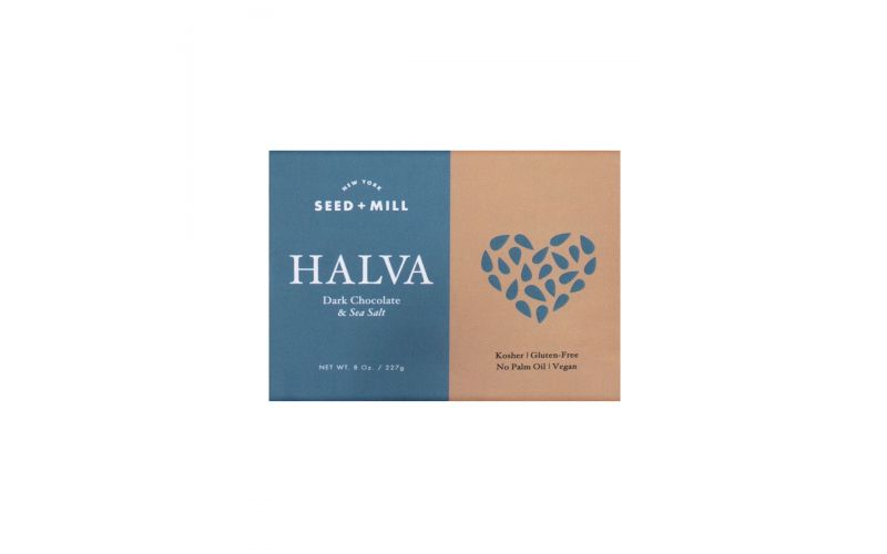 Dark Chocolate & Sea Salt Halva