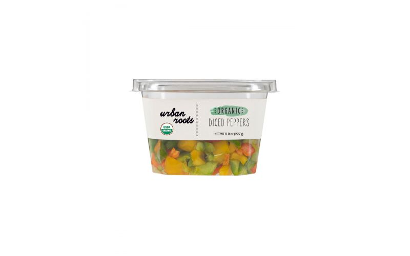 Organic Diced Peppers