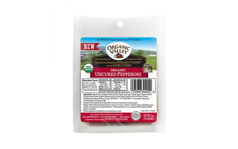 Sliced Organic Beef and Pork Pepperoni