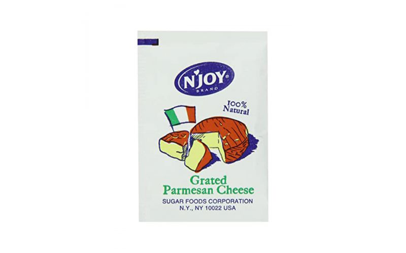Grated Parmesan Packets