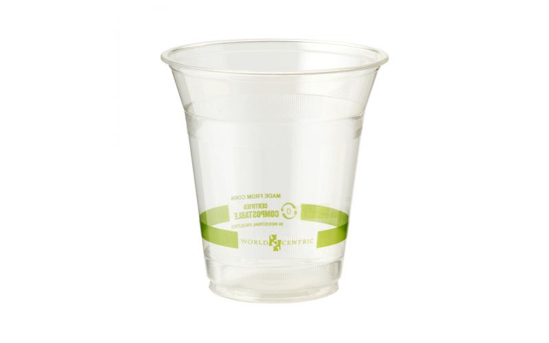 12 OZ Clear Compostable Cold Cups