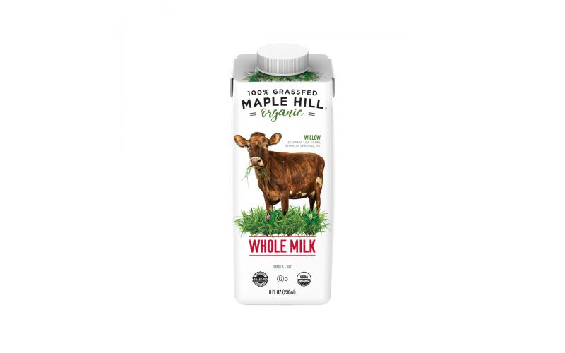 Organic Grassfed Whole Milk