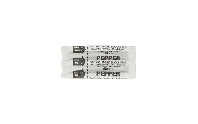 Fluted Pepper Packets