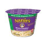 Organic White Cheddar Macaroni & Cheese Cups