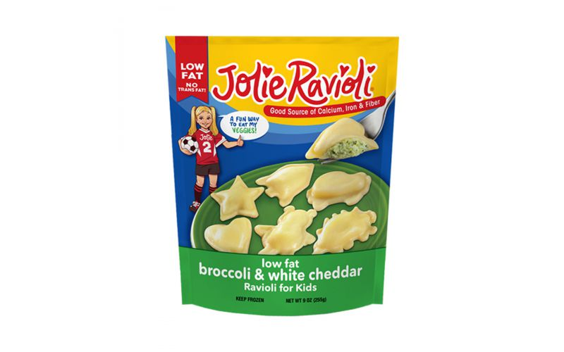 Broccoli & White Cheddar Jolie Ravioli
