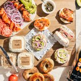Assorted Bagels w. Smoked Fish, Salads & Spreads