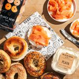 Assorted Bagel Box With Lox and Cream Cheese