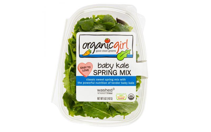 Organic Spring Mix & Baby Kale Blend