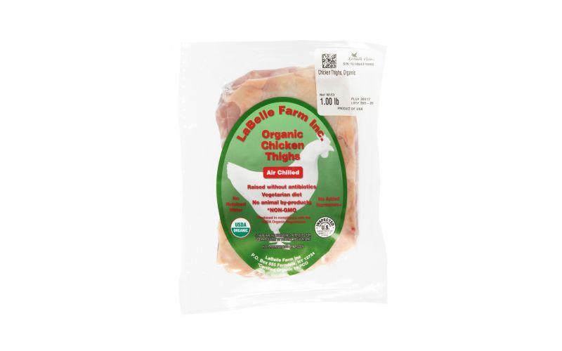 Organic Air Chilled Bone In Chicken Thighs