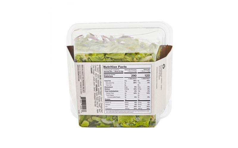Organic Rainbow Salad