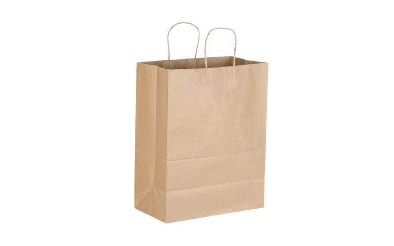 Kraft Shopping Bag With Handles