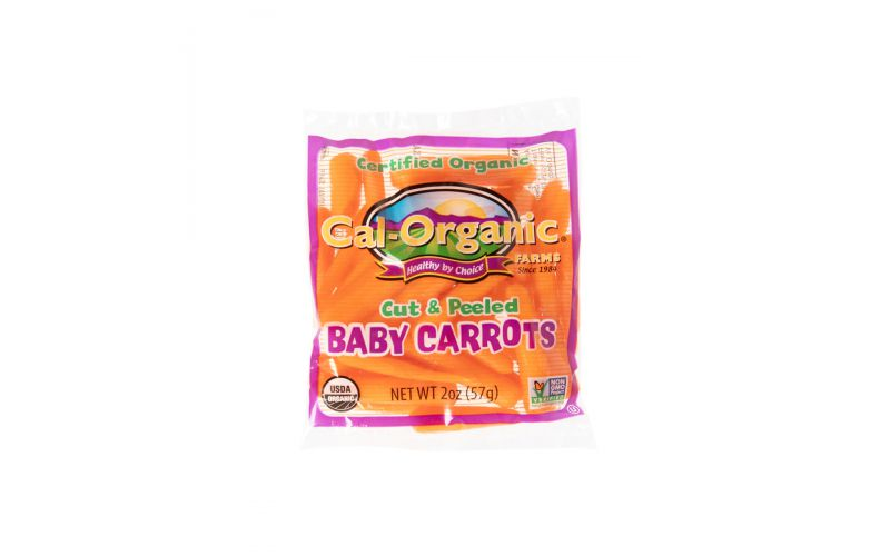 Organic Baby Carrots Snack Pack