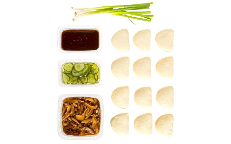 Shiitake Bun Kit 12 Pc Grocery Baldor Specialty Foods