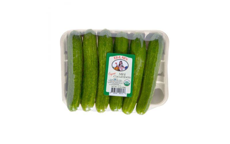Organic Mini Cucumbers Pack