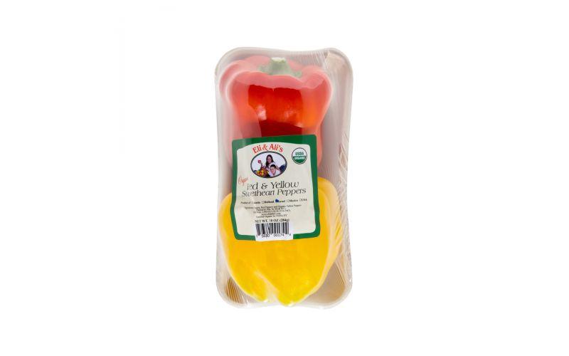 Organic Red & Yellow Pepper 2 Pack