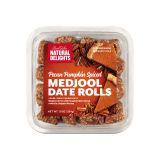 Pecan Pumpkin Spice Date Rolls
