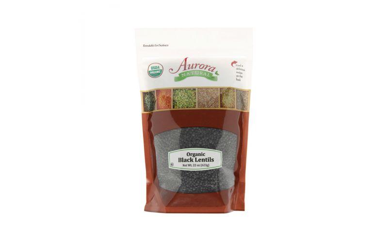 Organic Dried Black Lentils