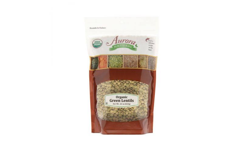 Organic Dried Green Lentils