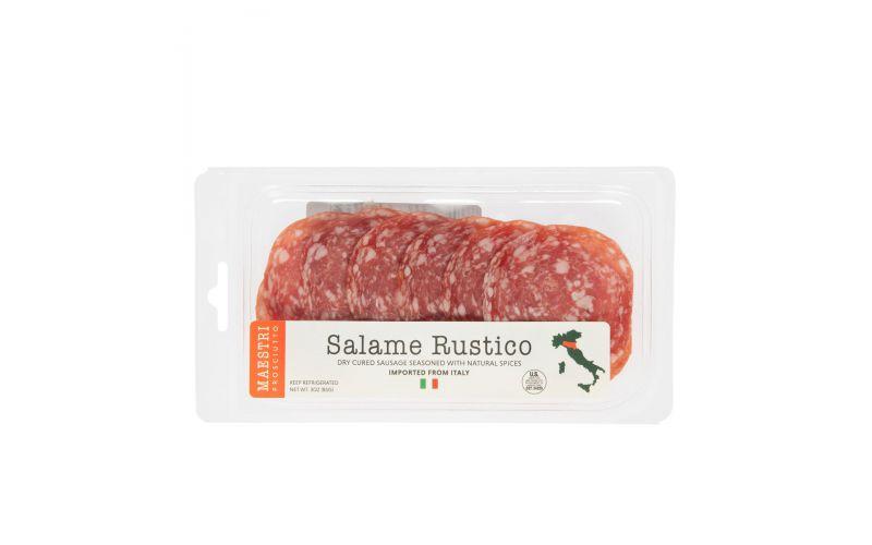 Sliced Rustico Salame