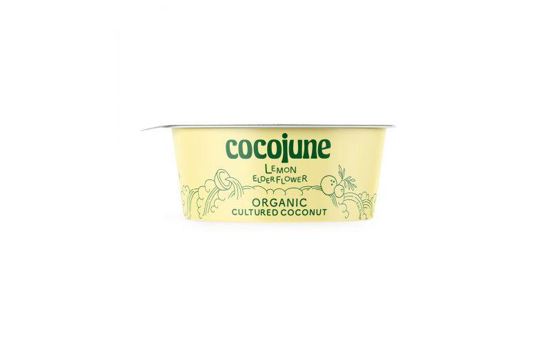 Organic Vegan Lemon Elderflower Coconut Yogurt