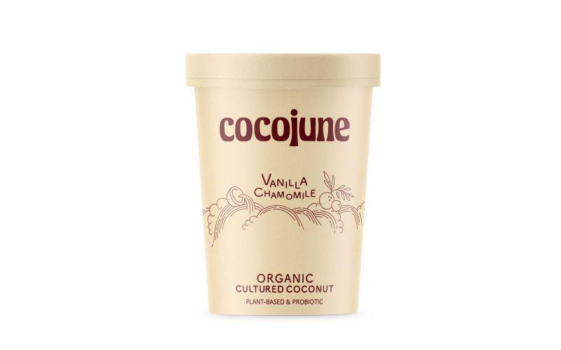Organic Vegan Vanilla Chamomile Coconut Yogurt