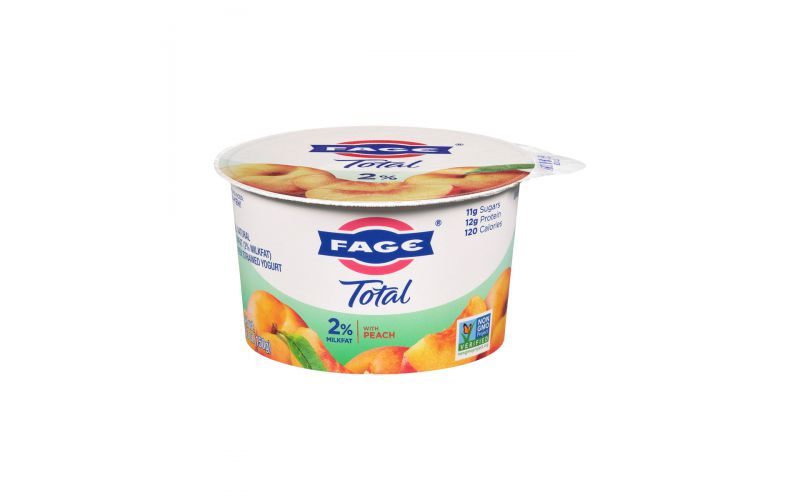 2 peach greek yogurt  dairy  baldorfood
