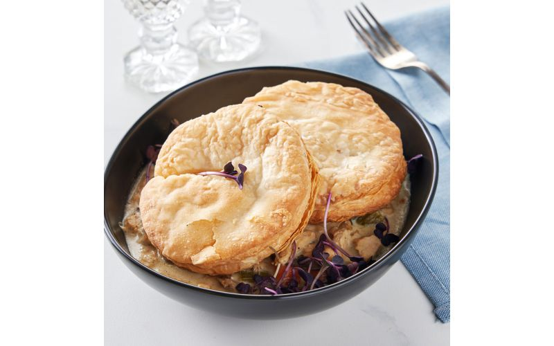 Morel And Black Truffle Chicken Pot Pies