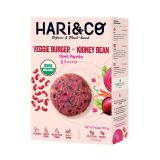 Kidney Bean, Beet, & Paprika Veggie Burger 2 PC