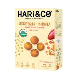 Chickpea, Swt Potato & Turmeric Veggie Balls 12 PC