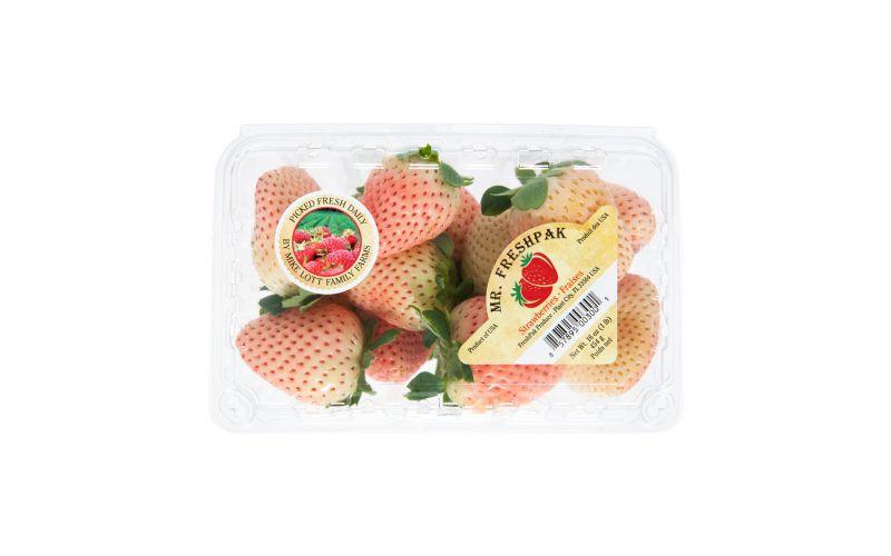Pink & White Strawberries