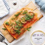 Passover Cedar Planked Salmon