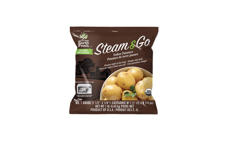 Organic Microwave Ready Yukon Potatoes