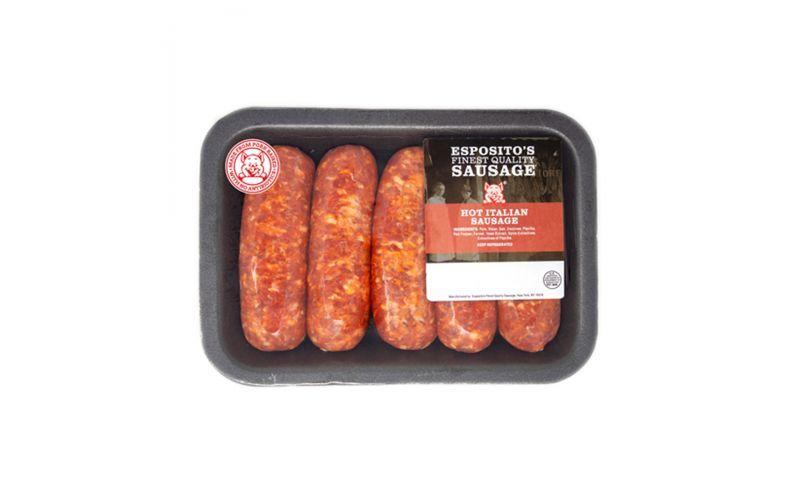 ABF Nat. Hot Italians Sausage 3 OZ