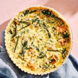 Smoked Salmon and Asparagus Spring Quiche