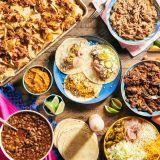 Cinco de Mayo Tacos and Nacho Box