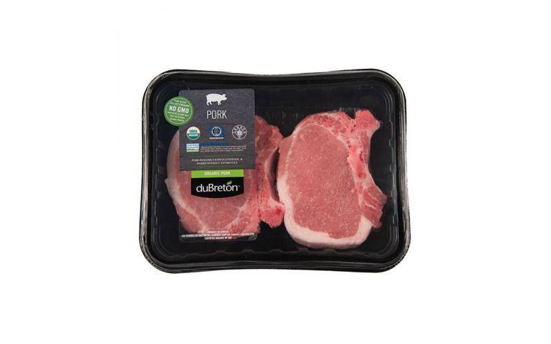 Organic Bone In 12 OZ Pork Chops