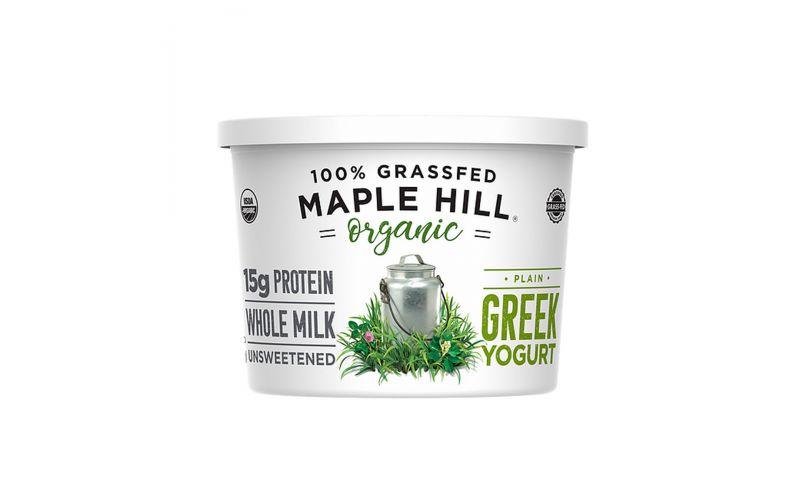 Organic Grassfed Whole Greek Yogurt