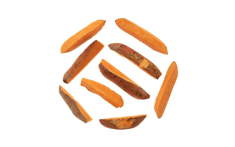 Skin On Sweet Potatoes Wedges