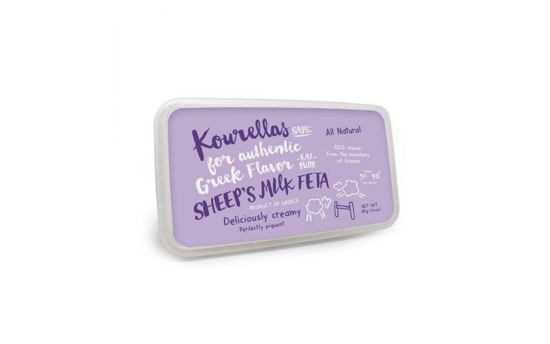Sheep's Milk PDO Feta Cheese