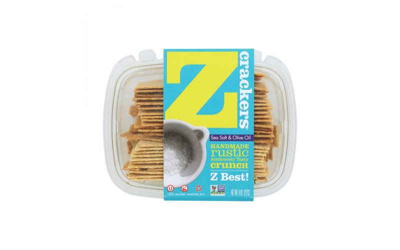 Z Crackers Sea Salt And Olive Oil Crackers